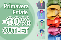 Saldi Primavera Estate -50%