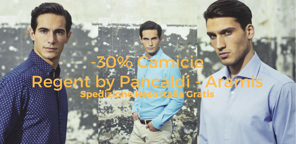 Shirts Regent by Pancaldi and Aramis -30%