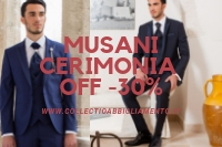 Men's ceremony Musani Milan outlet-30%